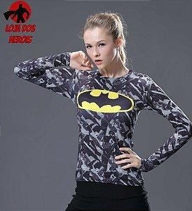 Camisa Feminina Batman Edição Especial - Manga Longa