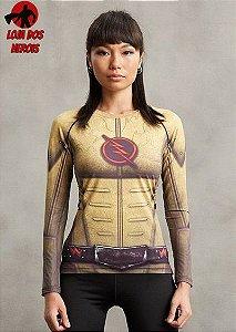 Camisa Feminina Flash Reverso - Manga Longa