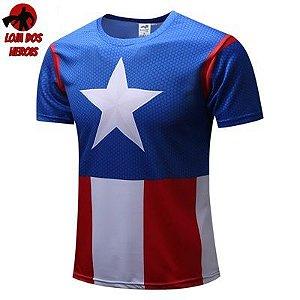 Capitão América HQ - SlimFit