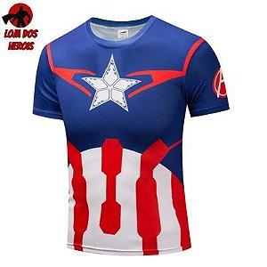 Capitão América Clássico - SlimFit