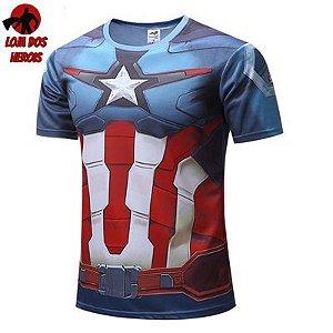 Capitão América Guerra Civil - SlimFit