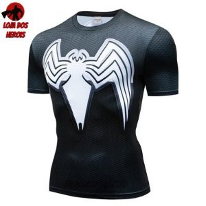 Camiseta Venom Compressão