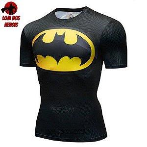 Camiseta Batman Clássico Compressão