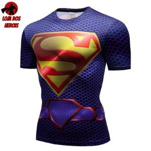 Camiseta Superman Filme Compressão