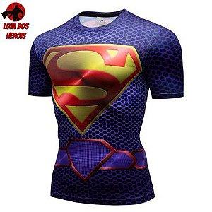 Camiseta Superman Filme Compressão