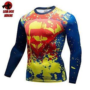 Camiseta Superman Edição Especial Manga