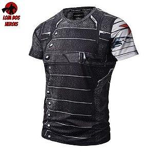 Camisa/Camiseta Soldado Invernal Compressão