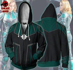 Jaqueta/Blusa Capitã Marvel Filme