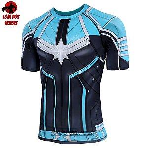 Camisa/Camiseta Capitã Marvel Filme Vingadores Ultimato Endgame