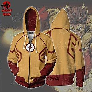 Jaqueta/Blusa Kid Flash Justiça Jovem