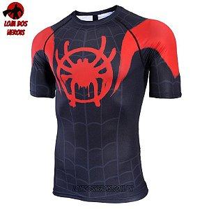 Camisa/Camiseta Homem Aranha No Aranhaverso - Miles Morales