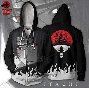 Jaqueta/Blusa Itachi Uchiha Mod 2 - Naruto