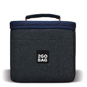 Bolsa Térmica 2goBag 4ALL Eco Mid   Gray