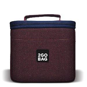 Bolsa Térmica 2goBag 4ALL Eco Mid   Wine