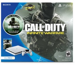 Playstation 4 500gb Ps4 Bundle Call Of Duty: Infinite Warfare Branco