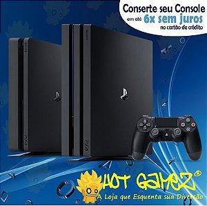 Assistência Técnica Playstation 4 - Conserto Ps4