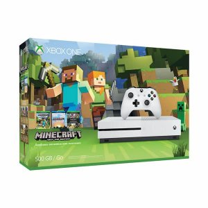 Xbox One S 500gb Bundle Minecraft