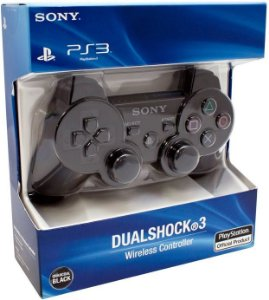 Controle Playstation 3 Dualshock 3 Preto Ps3 Original