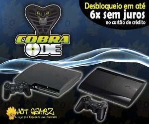 Desbloqueio PS3 / Destravamento Playstation 3 Cobra ODE
