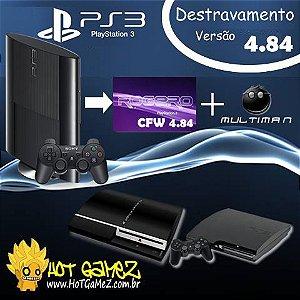 Desbloqueio PS3 / Destravamento PS3 / Downgrade playstation 3