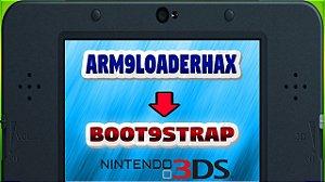 Desbloqueio / Destravamento Nintendo Luma 3DS Bootstrap9
