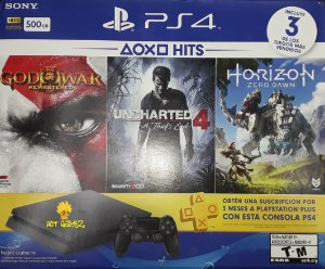 Playstation 4 Slim 500gb Ps4 Bundle PS Hits