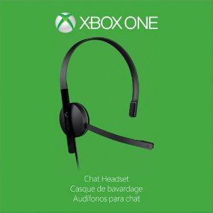Microsoft Xbox One Chat Headset Fone de ouvido