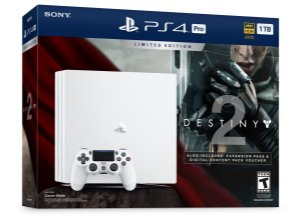 PlayStation 4 Pro 1TB Limited Edition Bundle Destiny 2