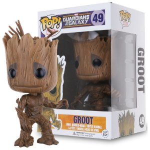 Funko POP Marvel: Guardians of The Galaxy - Groot Vinyl Bobble-Head Figure