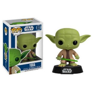 Funko Pop! Star Wars Yoda Vinyl Bobble-Head