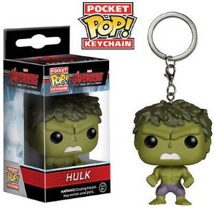 Funko Pocket POP Keychain: Marvel - Avengers 2 - Hulk Action Figure