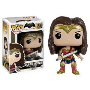Funko POP Heroes: Batman vs Superman - Wonder Woman Action Figure