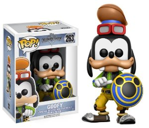 Boneco Vinil Funko POP Disney Kingdom Hearts - Goofy