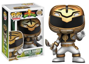 BONECO FUNKO POP POWER RANGERS - WHITE RANGER