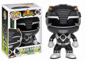 BONECO FUNKO POP POWER RANGERS - BLACK RANGER