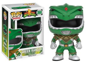 Boneco Vinil FUNKO POP! TELEVISION Power Rangers - Green Ranger