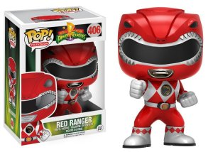 Boneco Vinil FUNKO POP! TELEVISION Power Rangers Red Ranger
