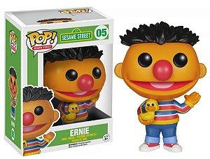 Boneco Vinil Funko Pop! Television Vila Sésamo Sesame Street - Ernie