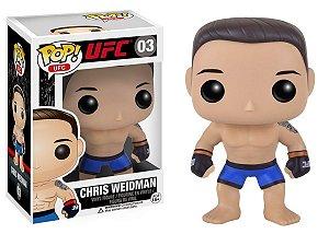 Boneco Vinil FUNKO POP! UFC Chris Weidman