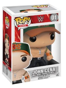 Boneco Vinil Funko Pop! WWE John Cena