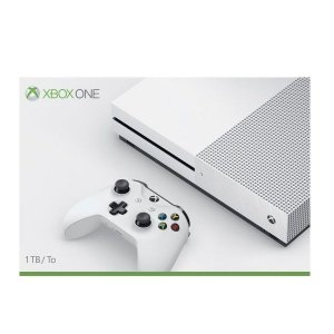 Xbox One S White 1TB Slim Branco