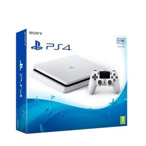 Playstation 4 1TB Ps4 Slim Branco
