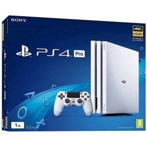 Playstation 4 1TB Ps4 Pro 4k Branco