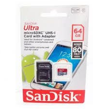Micro SD 64 GB Ultra Sandisk