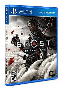 Jogo Ghost of Tsushima para PS4