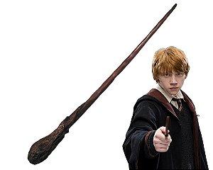 Varinha Mágica Harry Potter- Rony Weasley- Alta Resistência