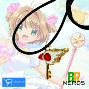 Colar Sakura Card Captors- Chave do Selo