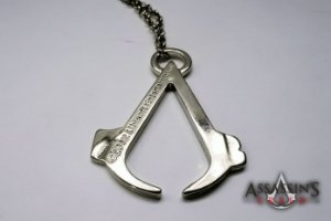 Colar Assassin's Creed- Metal