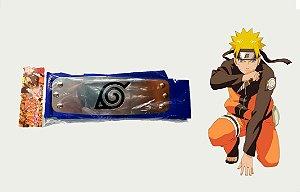 Bandana Vila da Folha- Azul- Anime Naruto