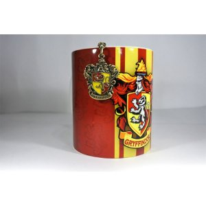 Caneca Gryffindor + Chaveiro Harry Potter